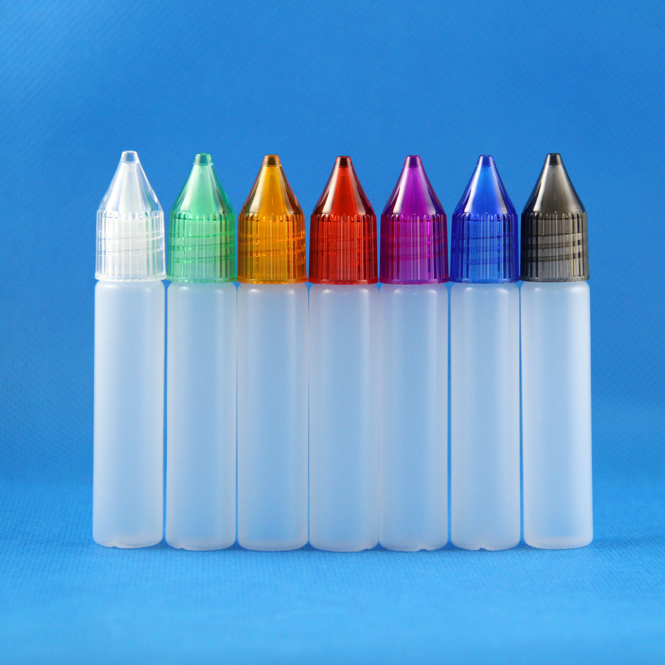 100x 10ml Unicorn Plastic Bottle Long Tip PEN Style New Design