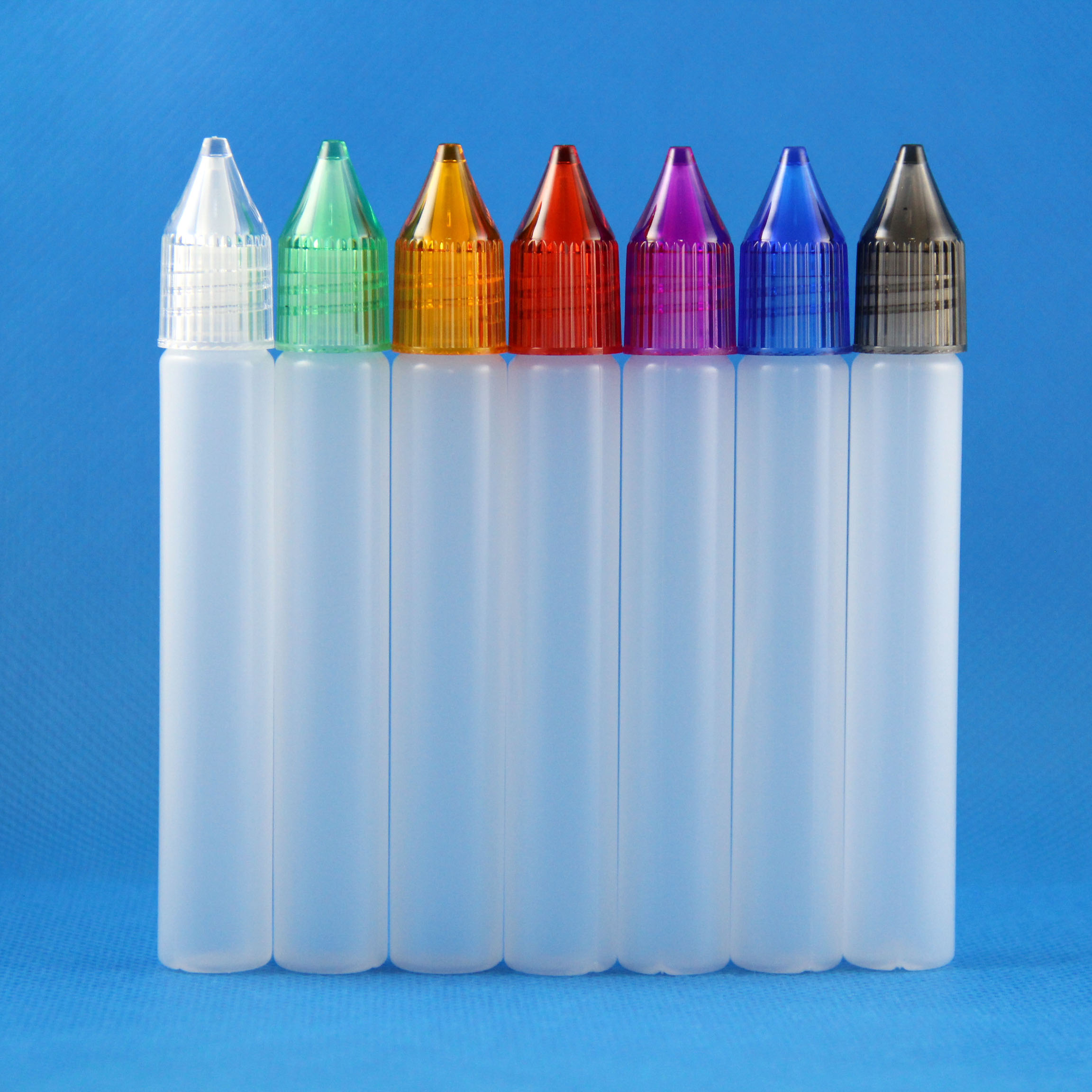 100x 15ml Unicorn Plastic Bottle Long Tip PEN Style New Design